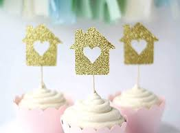 Amazon Housewarming Party Cupcake Toppers