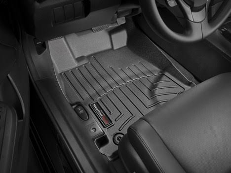WeatherTech Rear Floor Liners Mats - Black