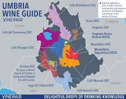 Your Guide To The Wines Of Umbria WITH MAP