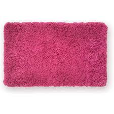 wohndirect badematte einzeln zum set kombinierbar badvorleger duschmatte rutschfest waschbar badteppich badezimmerteppich pink 50 x 80 cm