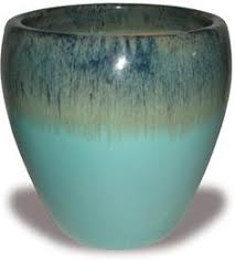 Wholesale Pottery Flower Pots Outdoor Glazed