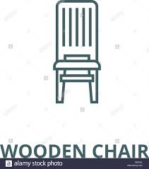Wooden Chair Vector Line Icon, Linear Concept, Outline Sign ... Rocking Chair By Adigit Sketch At Patingvalleycom Explore Clipart Denture Walker Old Tvold Age Set Collection Pvc Pipe 13 Steps With Pictures Shop Monet Black And White Rocking Chair Walker Old Tvold Age Set Bradley Slat Patio Vector Clip Art Of A Catamart Isolated On White Background A Comfortable Illustration Silhouettes Of Home And Stock Image