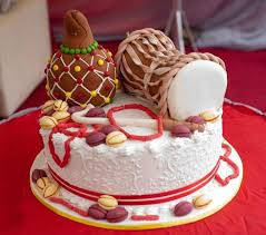 Nigerian Traditional Wedding Cakes