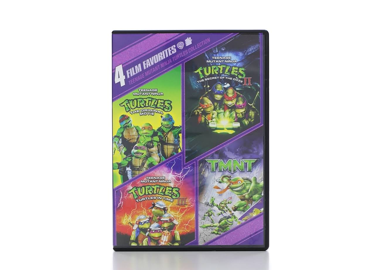 Teenage Mutant Ninja Turtles Collection: 4 Film Favorites DVD
