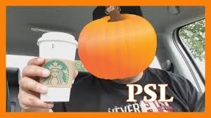 Starbuck Pumpkin Spice Latte 2017 by Food Review Starbucks Pumpkin Spice Latte Youtube