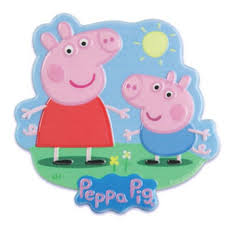 peppa pig cake decorations peppa pig and george cake topper plaque bling your cake