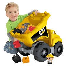 Mega Bloks Cat Dump Truck - Toys
