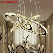modern led chandelier lights l for living room cristal