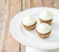 These moist and spicy mini carrot cake cupcakes are the perfect bite with the addition of