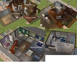 Sims 3 Big House Floor Plans by Father Of The Bride House Floor Plan Part 48 Plan 44040td For