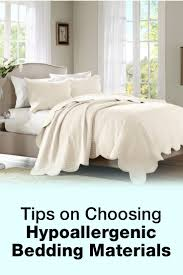 Dust Mite Bed Covers by Tips On Choosing Hypoallergenic Bedding Materials Overstock Com