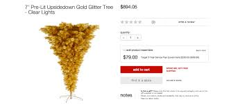 Target Is Selling Upside Down Christmas Trees Slow News Day