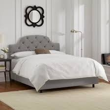 Skyline White Tufted Headboard by Custom Curved Tufted Upholstered Bed U0026 Headboard Collection