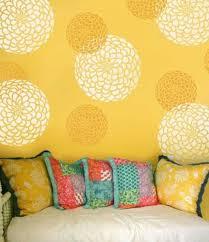 Diy Bedroom Painting Ideas Custom Wall Decorating Stencils 20