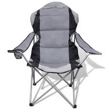 100 Folding Chair With Carrying Case Gray 2 Pieces S Outdoor XXL With Gray Bag