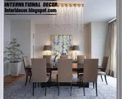 attractive modern dining room table and chairs style interior