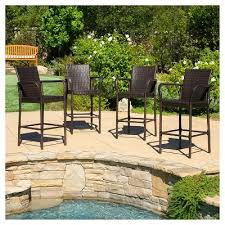 Slingback Patio Chairs Target by Outdoor Bar Stools Target