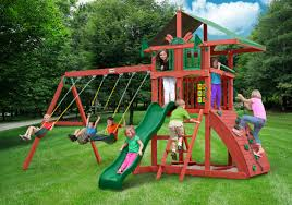 Outdoors: Playset Kits | Gorilla Swing Sets | Sears Swing Set Outdoors Gorilla Swing Sets Playsets Sears Backyard Discovery Weston All Cedar Playset The Home Depot Image Srtspower Timber Play Ii With Balcony Set Amazing For Cool Kids Playground Ideas Ii Playtime Fun For From Somerset Manual Outdoor Decoration Safari Images Wood Pictures Mesmerizing Nice Dazzling Design Of