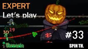 Pumpkin Moon Terraria by Terraria 1 3 Expert Let U0027s Play Vampire Knives ม ดด ดเล อด 29