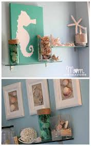 Bathroom Wall Decor Ideas Pinterest by Style Wall Decals Ideas On Pinterest Best Diy Beach Bathroom Wall