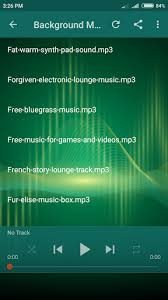 Background Music Latest Version Apk