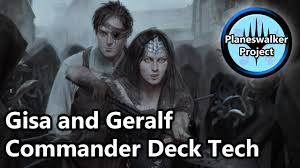 Competitive Edh Decks 2016 by Gisa And Geralf Commander Edh Deck Tech For Mtg 2016 Youtube