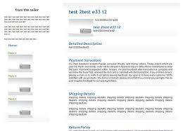 Free EBay Template Style 5click To Enlarge