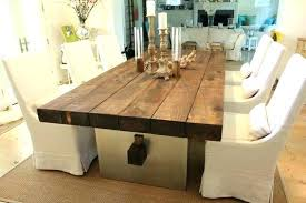 Modern Wood Dining Room Tables Natural Kitchen Table Of Exemplary