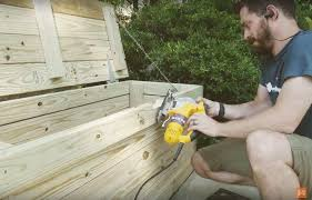 Outdoor Storage Bench Build by Build It Outdoor Storage Bench Wood It U0027s Real Wood It U0027s Real