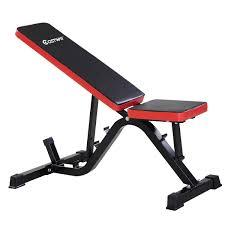 OneTwoFit Crazy MORE DoAdjustable ArcShaped Decline Sit Up Bench