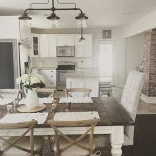 Farmhouse Dining Table Farm Style Room Set Distressed