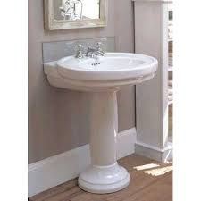 lowes pedestal sink