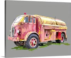 100 Fire Truck Wall Art Vintage Designs Related To Engine Canvas W