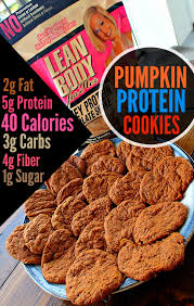 Pumpkin Spice Herbalife Shake Calories by Low Carb 40 Calorie Pumpkin Protein Cookies Simply Taralynn
