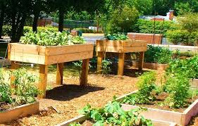 Greenes Fence Raised Garden Bed by Raised Garden Bed With Fence