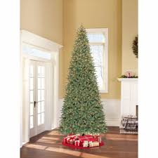 Raz Artificial Christmas Trees by Prelit Christmas Tree Artificial White Lights 12 Ft Tall With