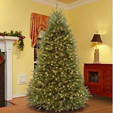 Green Fir Artificial Christmas Tree With 700 Lights Colored And White Stand