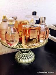 Cake Stand As Perfume Holder I Have Used A On My Dresser For Some Time Always Find Funny Use Stands They Are Little Obsession