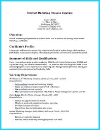 Marketing Resume Samples Internet Marketer Free Blue Sky Resumes Diamond Engineering Services By Clicking Build Your