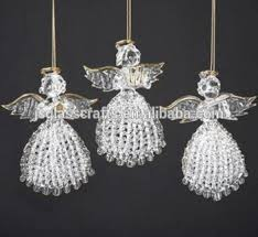 Wholesale Glass Hanging Angelchristmas Tree Angel Ornaments