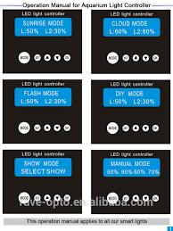 led aquarium light controller modular design led aquarium light app with fans