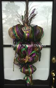 Burlap Mardi Gras Door Decorations by 49 Best Mardi Gras Images On Pinterest Mardi Gras Party Deco