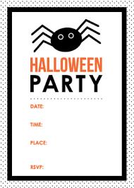 Free Halloween Invitation Templates Microsoft by Printable Halloween Invitations U2013 Festival Collections
