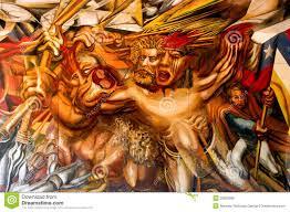 David Alfaro Siqueiros Murales by Wall Murals Editorial Photo Image 29820586