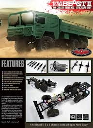 RC4WD Beast II 6x6 Truck Kit Cars Trucks Car Truck Kits Hobby Recreation Products Green1 Wpl B24 116 Rc Military Rock Crawler Army Kit In These Street Vehicles Series We Use Toy Cars Making It Easy For Nikko Toyota Tacoma Radio Control 112 Scorpion Lobo Runs M931a2 Doomsday 5 Ton Monster 66 Cargo Tractor Scale 18 British Army Truck Leyland Daf Mmlc Drops Military Review Axial Scx10 Jeep Wrangler G6 Big Squid B1 Almost Epic Rc Truck Modification Part 22 Buy Sad Remote Terrain Electric Off Road Takom Type 94 Tankette Kit Tank Wfare Albion Cx Cx22 Pinterest