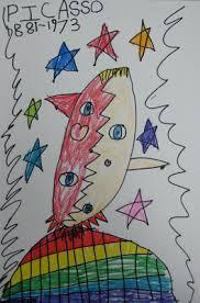 Picasso Portraits Kindergarten Style