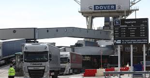 100 Coastal Truck Driving Brexit Threatens To Cause Some Major Trade Disruption In Dover