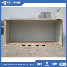 100 Shipping Container Model Hot Item Open Sided Open Top S Price 20FT Storage
