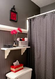 Gray, Black And Red Bathroom. | Bathroom | Bathroom, Red Bathroom ... Red Bathroom Babys Room Bathroom Red Modern White Grey Bathrooms And 12 Accent Ideas To Fall In Love With Fantastic Design Floor Tub Small Master Bath Paint Pating Decor Design Orange County Los Angeles Real Blue Yellow Accsories Gray Kitchen And Inspiration Behr Style Classic Toilet Retro Dilemma Colors Or Wallpaper For Dianes Kitschy Interior Mesmerizing Fniturered