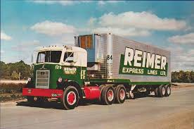 Reimer Express Lines LTD Of Canada | Old Freight Trucks | Pinterest ...